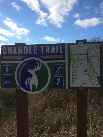 Onanole trail